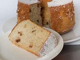Banana Walnut Chiffon Cake