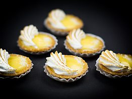 Petit Fours: Passion Fruit Tartelettes