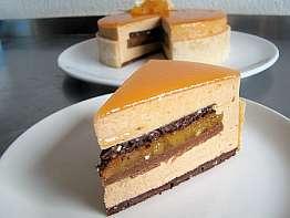 Apricot Praline Cake
