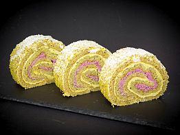 Double Pistachio Roll